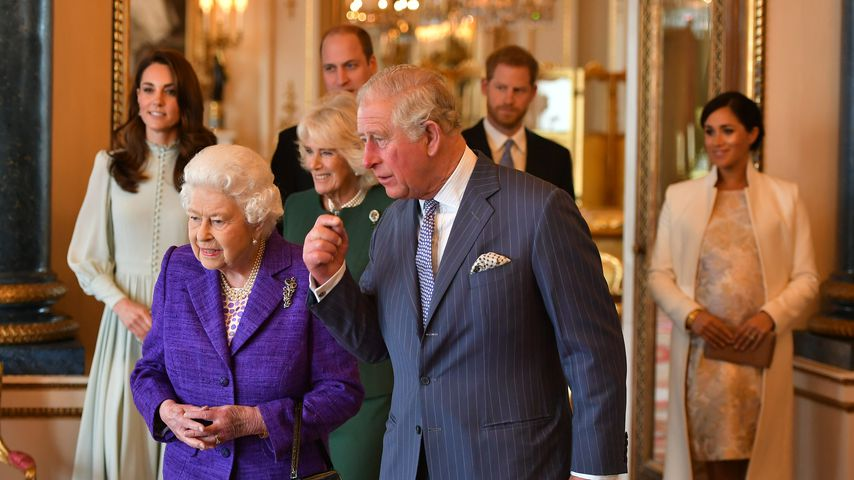 Familien-Termin: Ließen die Royals Meghan am Rand stehen?