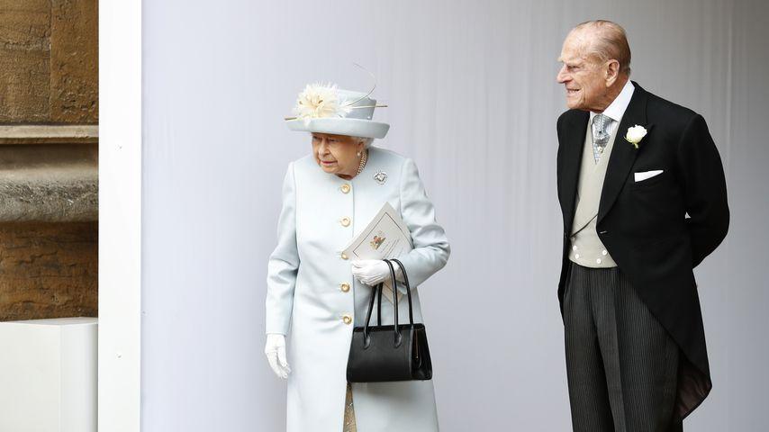 Queen Elizabeth II. und Prinz Philip im Oktober 2018