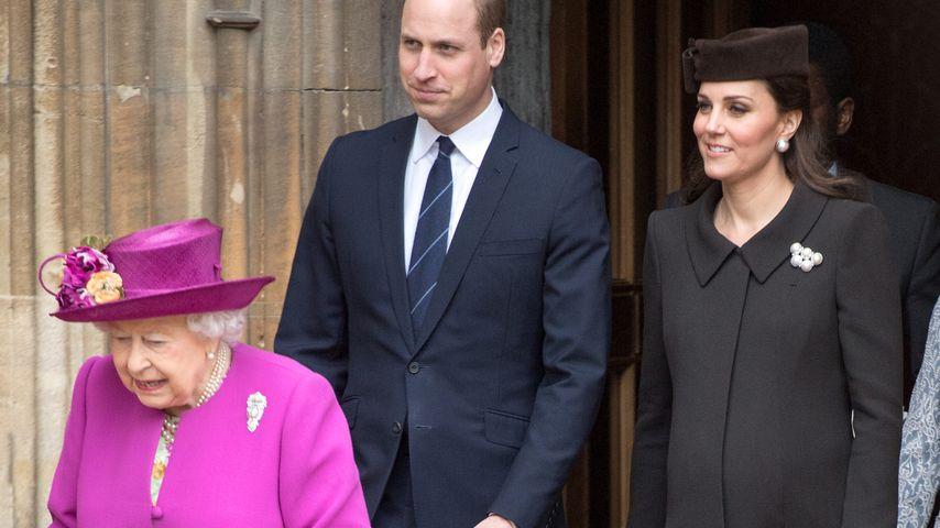 Wenn Queen stirbt: Diesen Titel bekommen William & Kate!