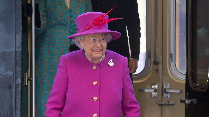 Queen Elizabeth II. und der Royal Train 2015