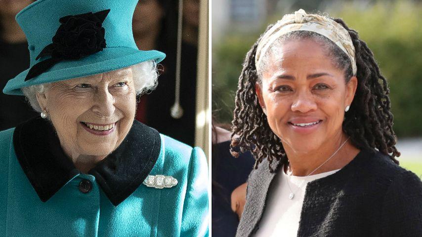 Trotz Familien-Fehde: Queen ist beeindruckt von Meghans Mama