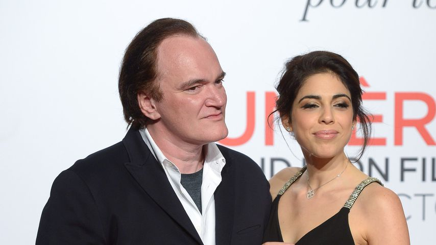 Quentin Tarantino und Daniela Pick in Lyon