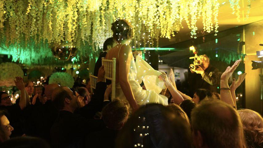 Quentin Tarantino und Daniella Pick bei ihrer Hochzeitsfeier 2018