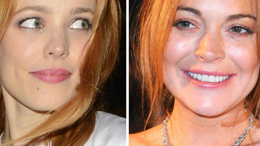 Rachel McAdams zeigt Bewunderung für Lindsay Lohan
