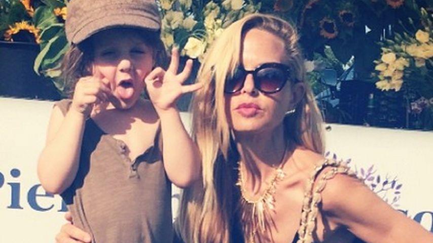 Happy Family: Rachel Zoe albert mit ihrem Skyler