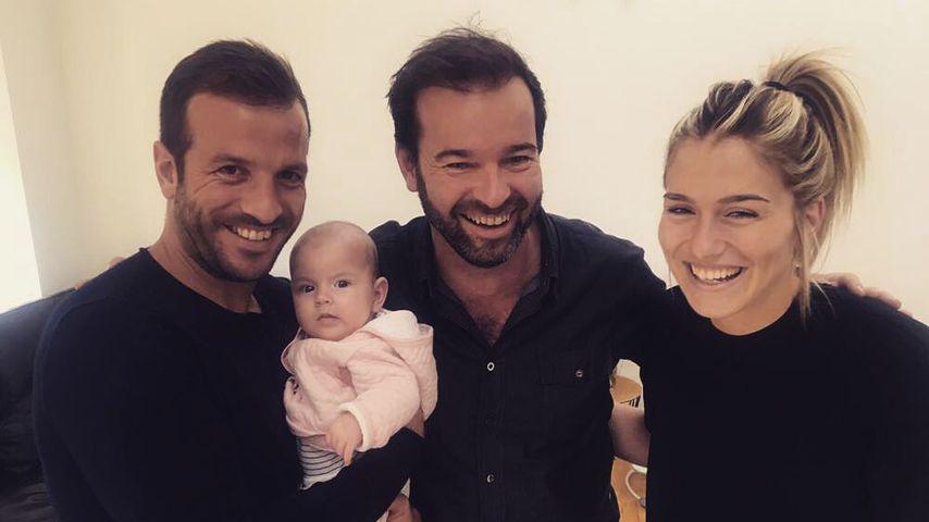 Zuckersüß! Neues Foto von Rafaels & Estavanas Töchterchen!