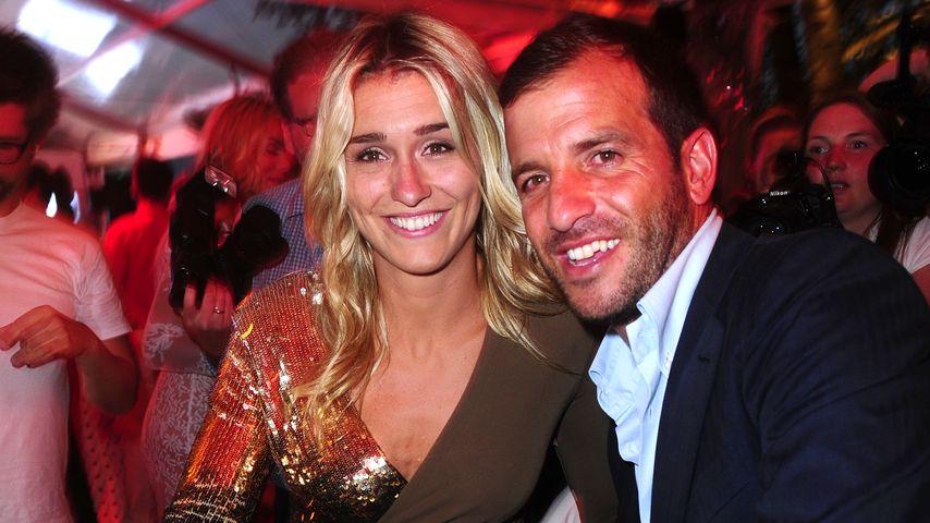 Rafael van der Vaart und Estavana Polman bei einer After-Party in Berlin
