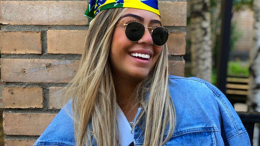 Rafaella Beckran, Schwester von Fußball-Star Neymar Jr.