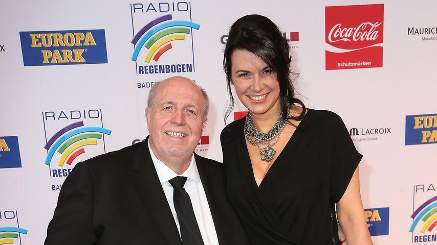 Rainer Calmund und Sylvia beim Radio Regenbogen Award 2013