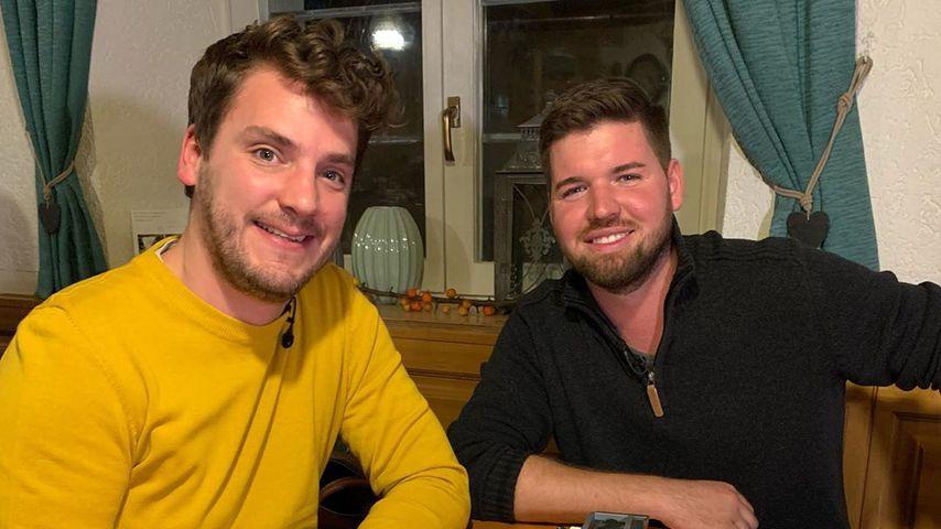 Ralf Herrmann und Bauer Michael