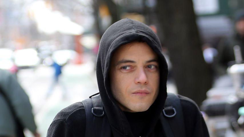 """Rami Malek rammt Obdachlosen beim Dreh von """"Mr. Robot""""!"""