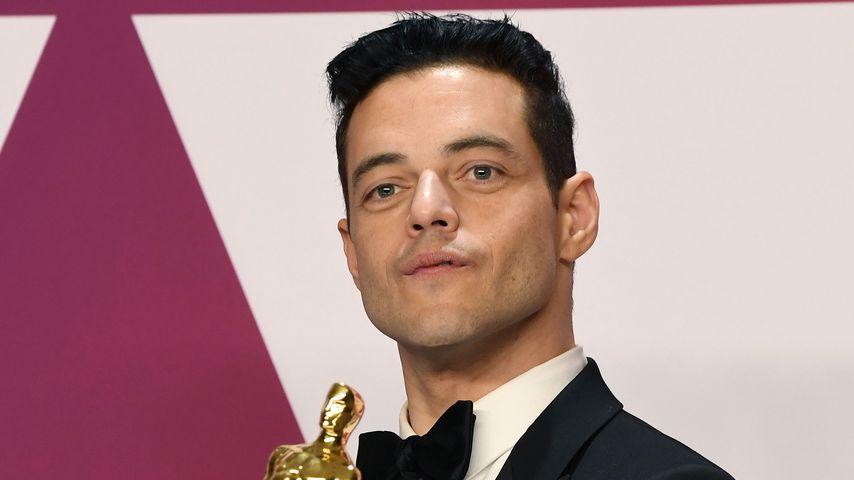 Sturz von Oscar-Bühne: Gewinner Rami Malek fast verletzt!