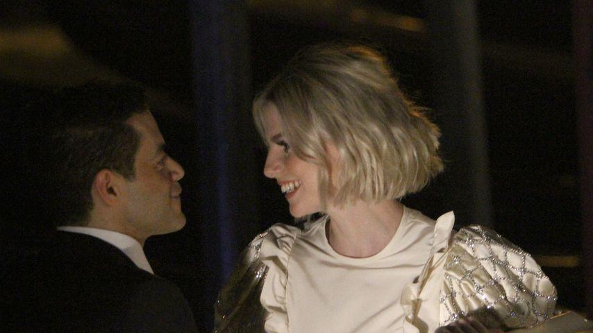 So verliebt turteln Rami Malek und seine Lucy durch Venedig