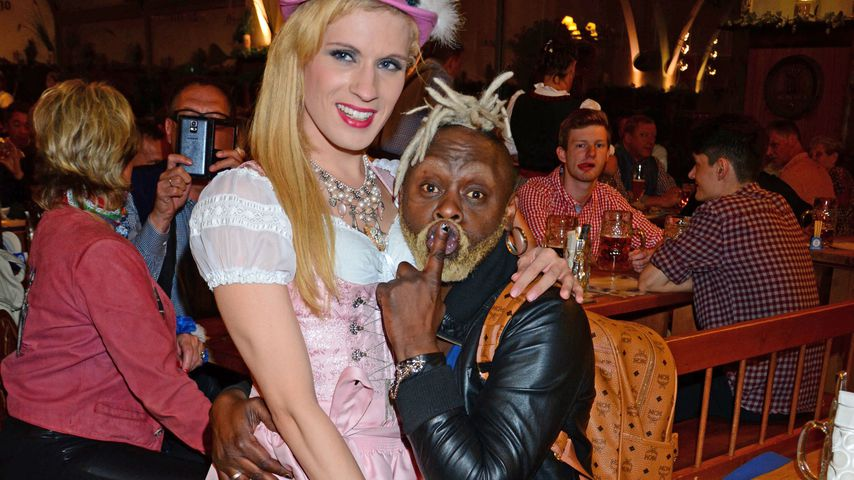 Raphaela Salentin und Jim Reeves auf dem Oktoberfest 2015