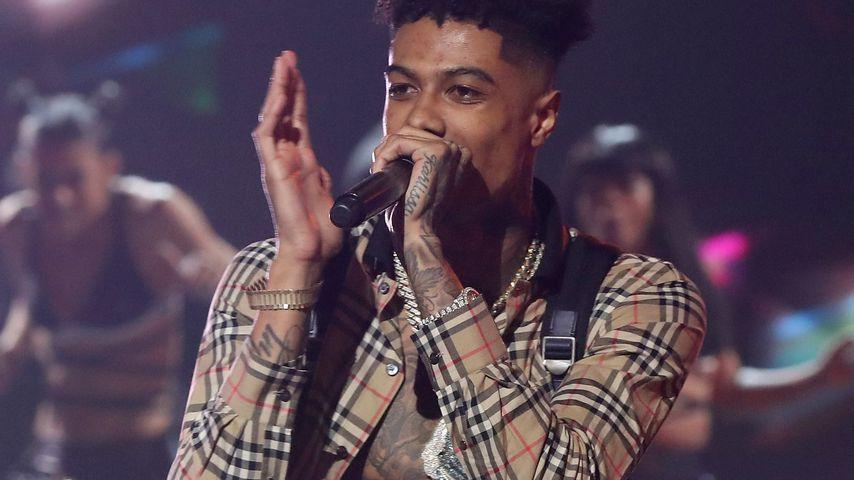 Rapper Blueface bei den BET Social Awards in Atlanta im März 2019