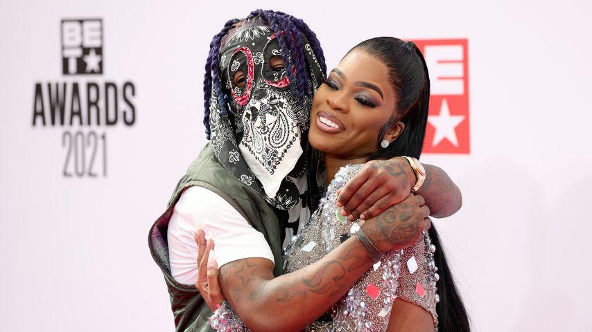 Rapper Lil Uzi Vert und seine Freundin JT von den City Girls