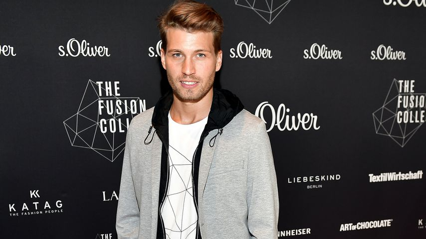 Raúl Richter bei der  FUSION COLLECTION Fashion Show