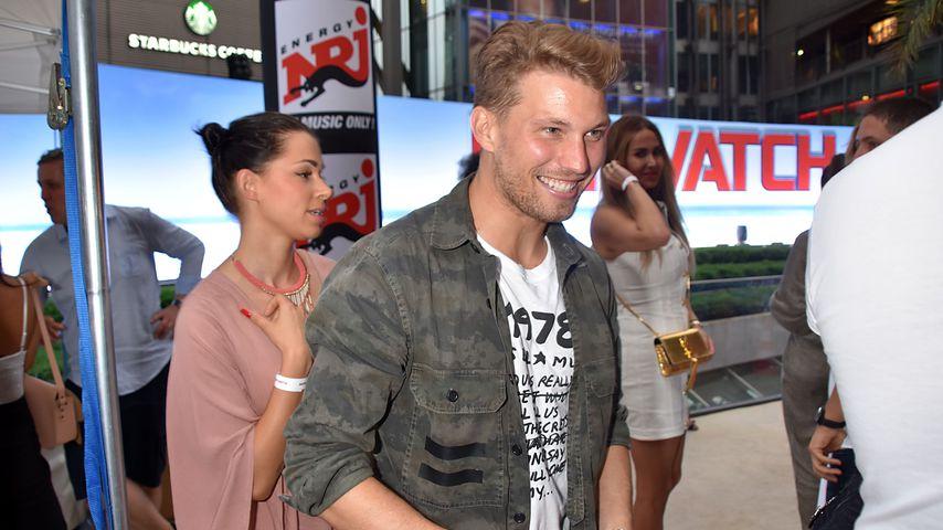 Raúl Richter (r.) und seine Freundin Jessy