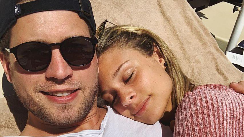 Raúl Richter und Vanessa Schmitt im Juni 2019