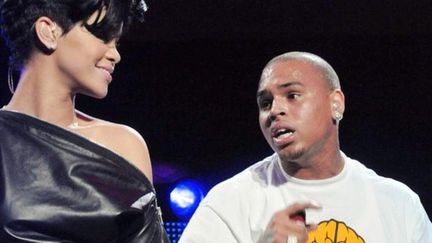 Rihanna und Chris Brown