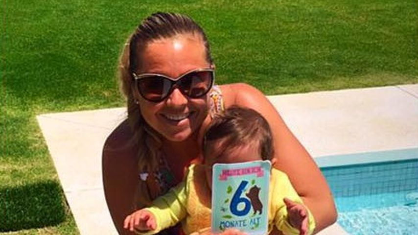 Mutterglück! Rebecca Kratz' Tochter ist schon 6 Monate alt