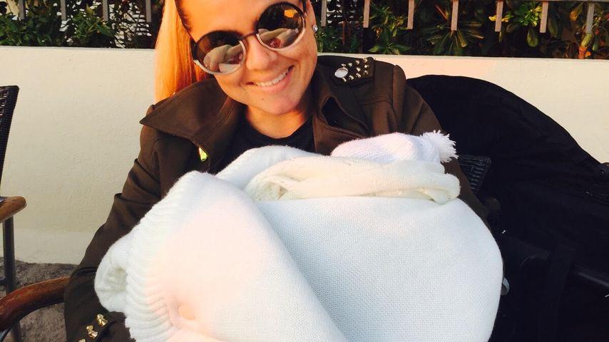 Exklusive Einblicke: Rebecca Kratz zeigt Baby Alaia-Claire