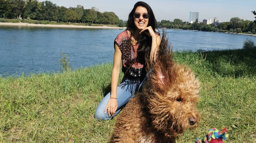 Rebecca Mir und ihre Macchia