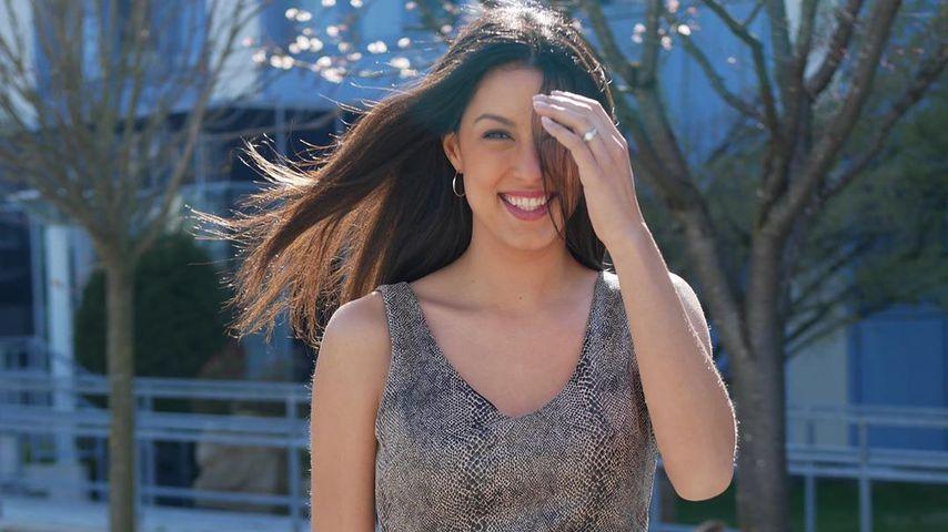 Rebecca Mir im April 2020 in München