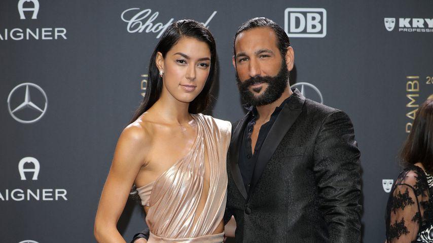 Rebecca Mir und Massimo Sinato im November 2018 in Berlin