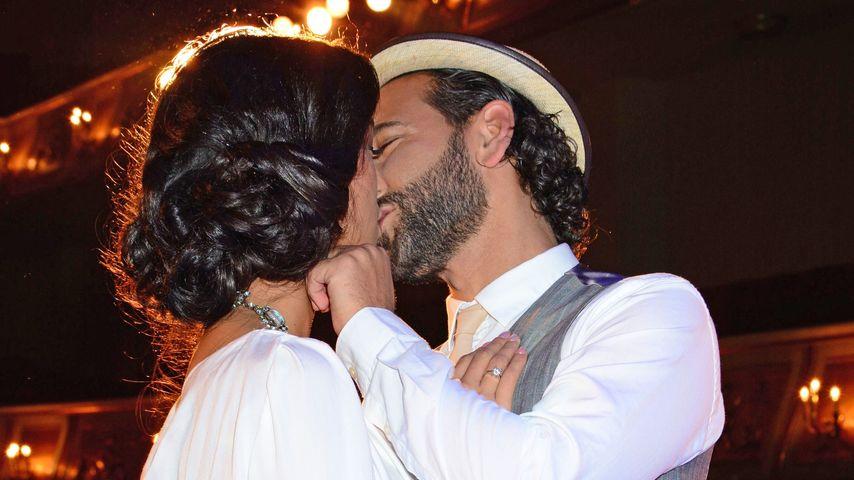 Wow! Hochzeitskuss von Rebecca & Massimo dauerte 3 Minuten