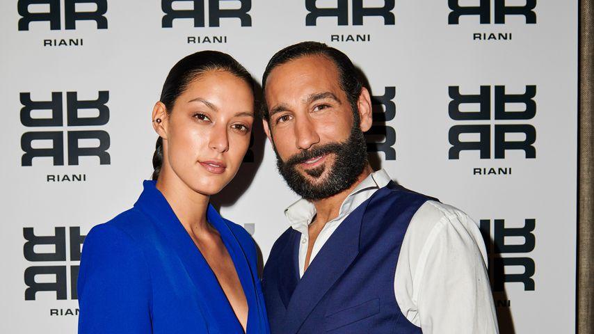 Rebecca Mir und Massimo Sinató im Juli 2018 in Berlin