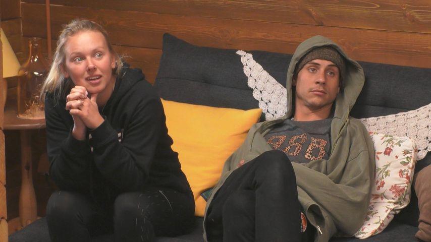 "Rebecca und Pat im ""Big Brother""-Blockhaus"