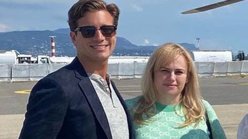Rebel Wilson mit ihrem Freund Jacob