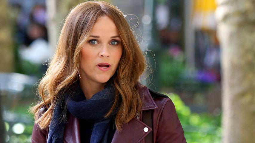 Sonst immer blond: Reese Witherspoon ist plötzlich brünett!