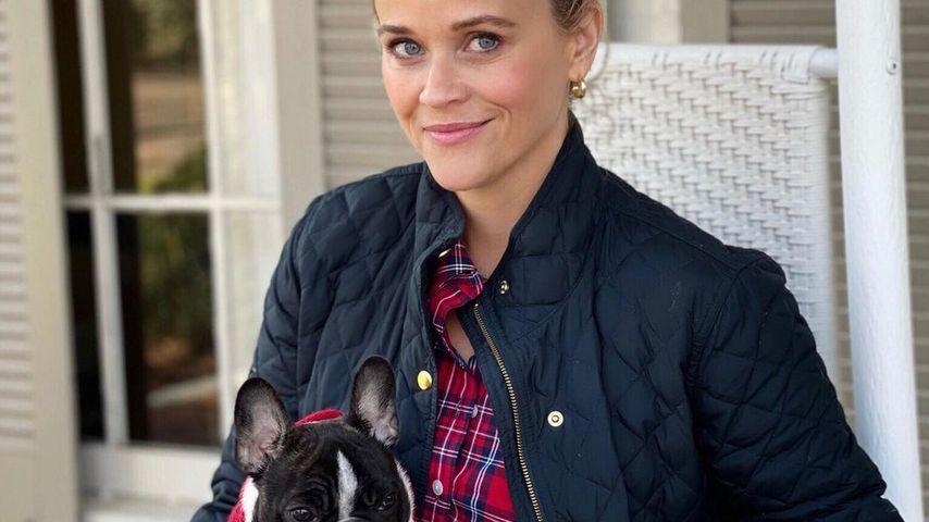 Reese Witherspoon und Minnie im Dezember 2020