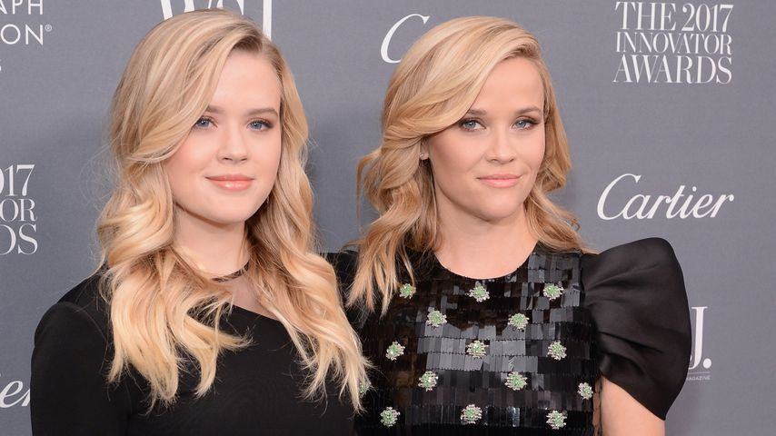 Reese Witherspoon und ihre Tochter Ava bei den WSJ. Innovator Awards in New York City 2017