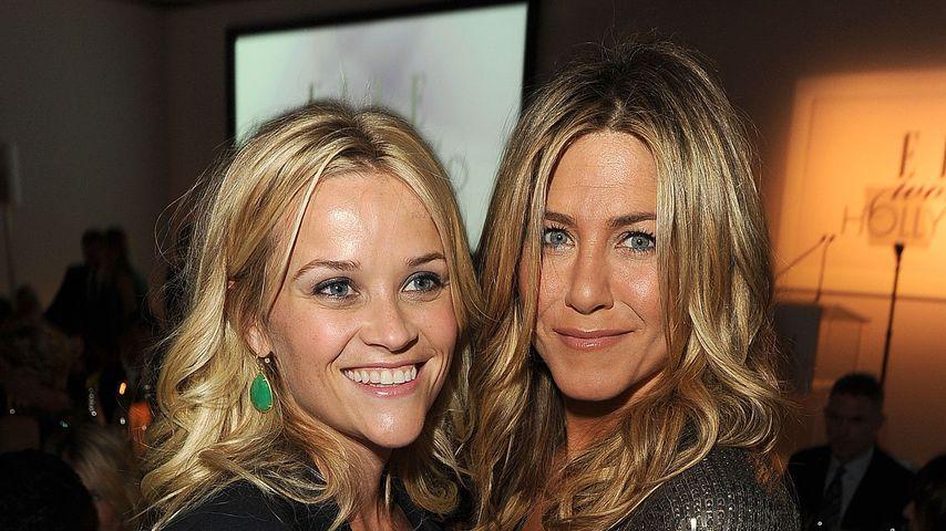 """Reese Witherspoon war nervös, als sie Jen bei """"Friends"""" traf"""
