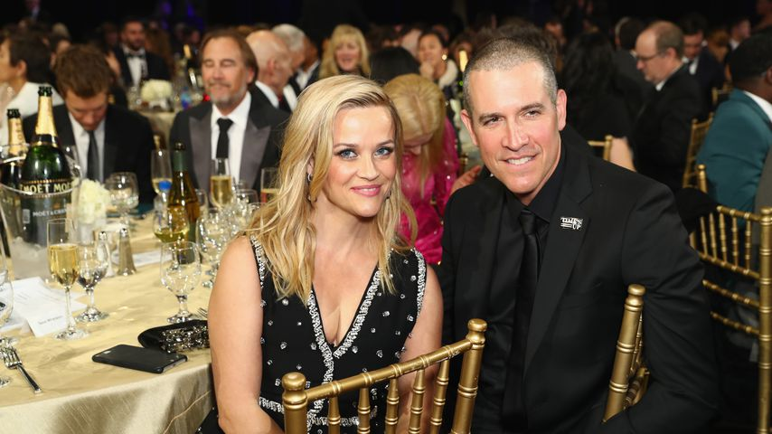 Reese Witherspoon und Jim Toth, 2018