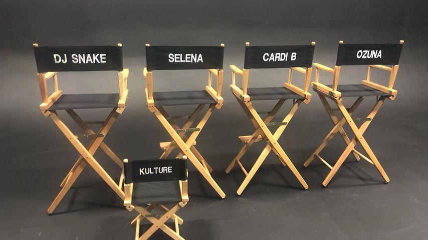 Regiestühle von DJ Snake, Selena Gomez, Cardi B und Ozuna