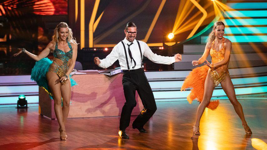 "Regina Luca, Benjamin Piwko und Isabel Edvardsson in der zehnten ""Let's Dance""-Show"