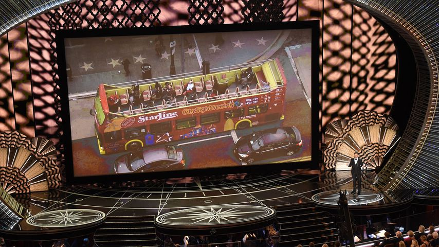 Reisegruppe bei den Oscars 2017