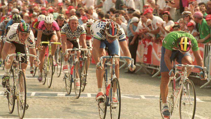 Remig Stumpf bei der Tour de France im Jahr 1991