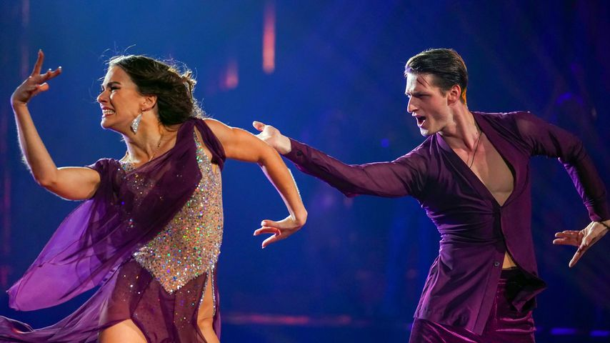 """Renata Lusin und Moritz Hans im """"Let's Dance""""-Finale"""