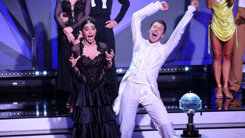 """Renata und Valentin Lusin bei der """"Let's Dance""""-Profi-Challenge"""