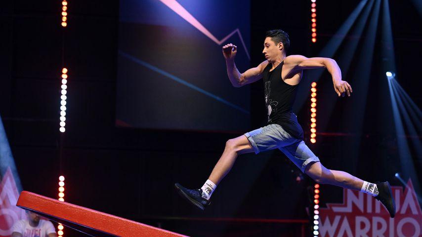 """Ninja Warrior Germany""-Allstar René Caselly in der Vorrunde, 2020"