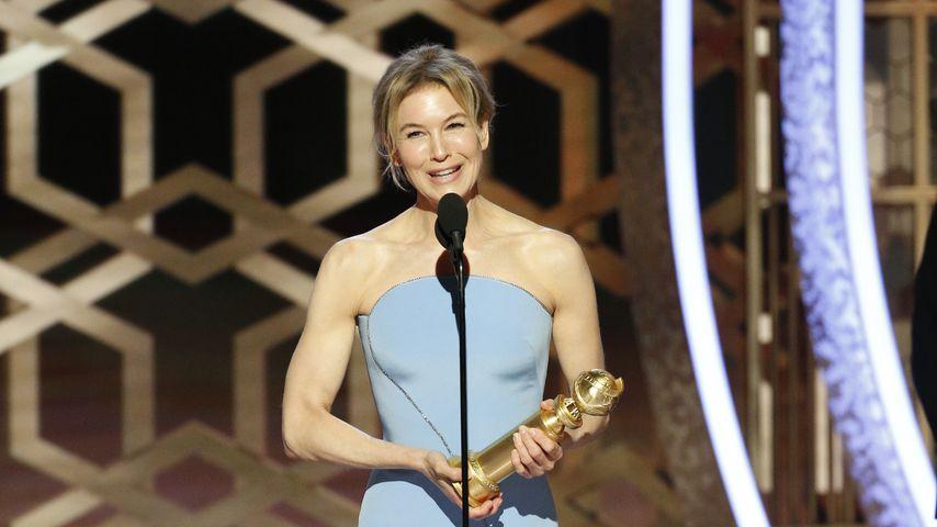 Renée Zellweger bei den Golden Globes in L.A. im Januar 2020