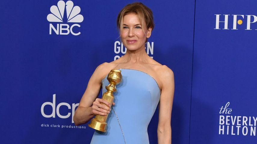 Renée Zellweger bei den Golden Globes 2020