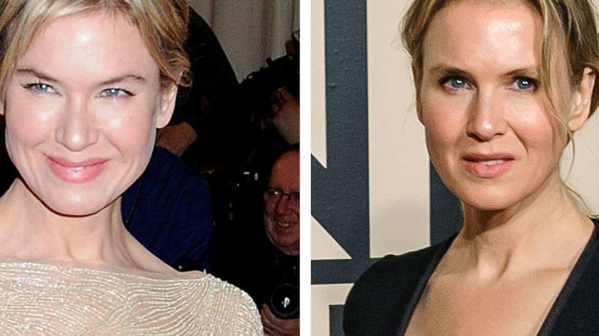 Renee Zellweger 2011 und 2014