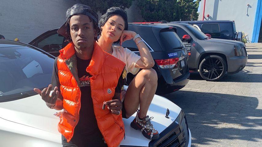 US-Rapper Rich The Kid und Freundin Tori Brixx