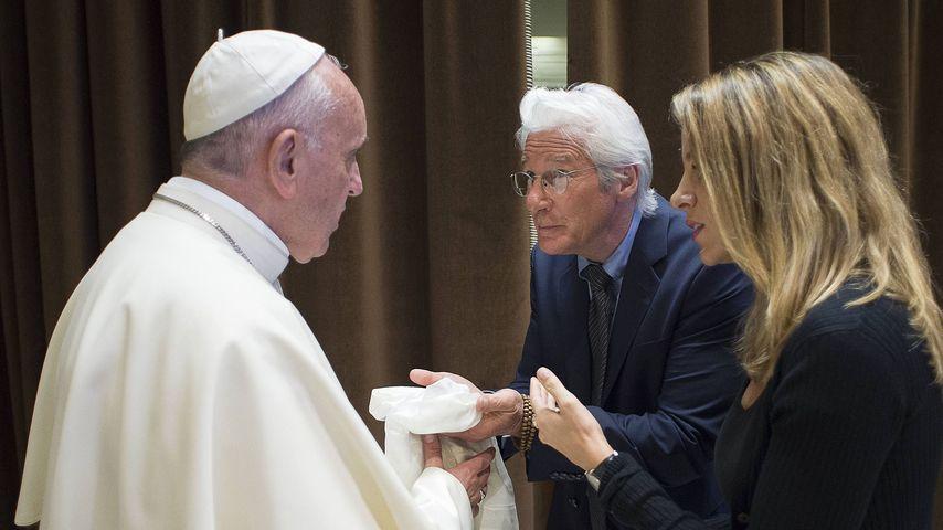 Papst Franziskus I. und Richard Gere